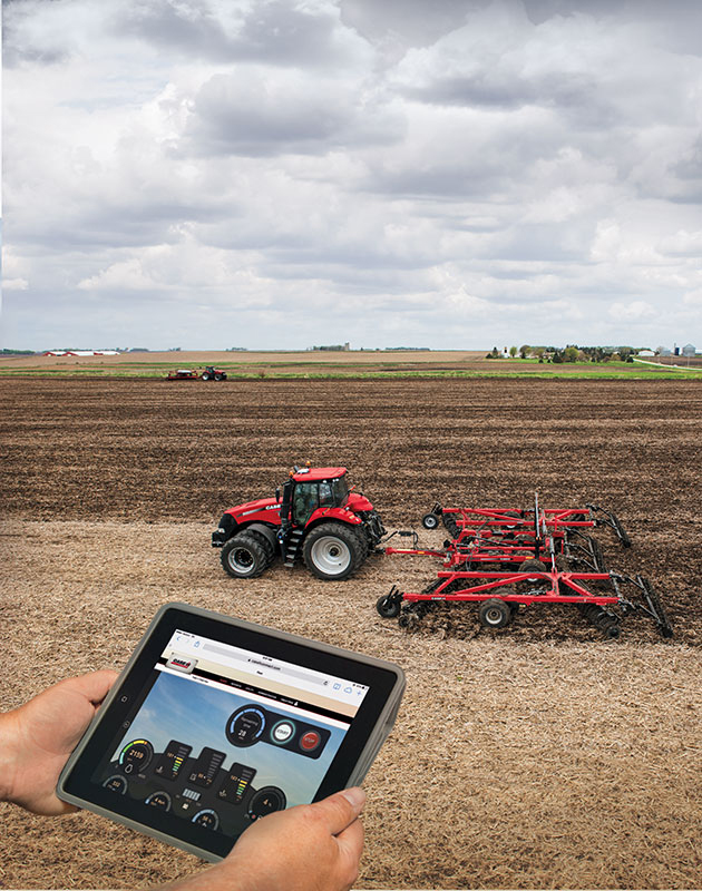 field data collection for construction and agriculture equipment