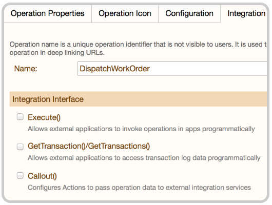 integration for enterprise apps and back-end systems