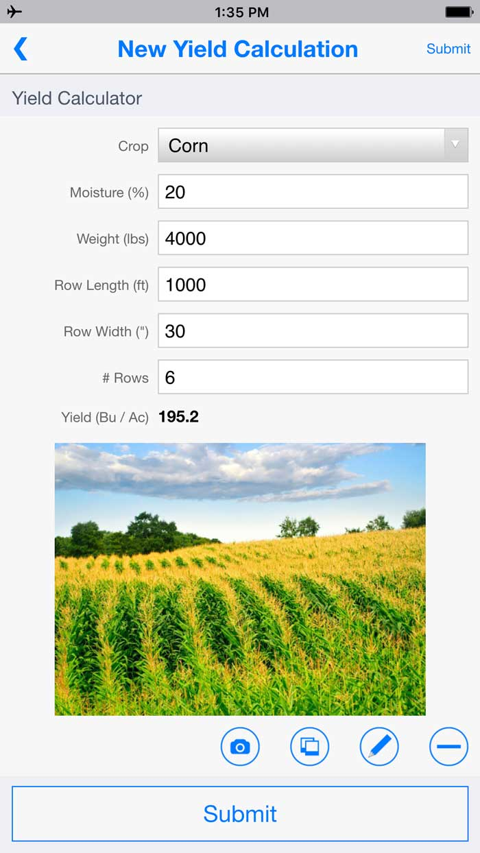 farm and agriculture mobile forms