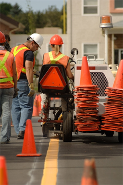 Construction Management Apps - Lafrentz Road Marking