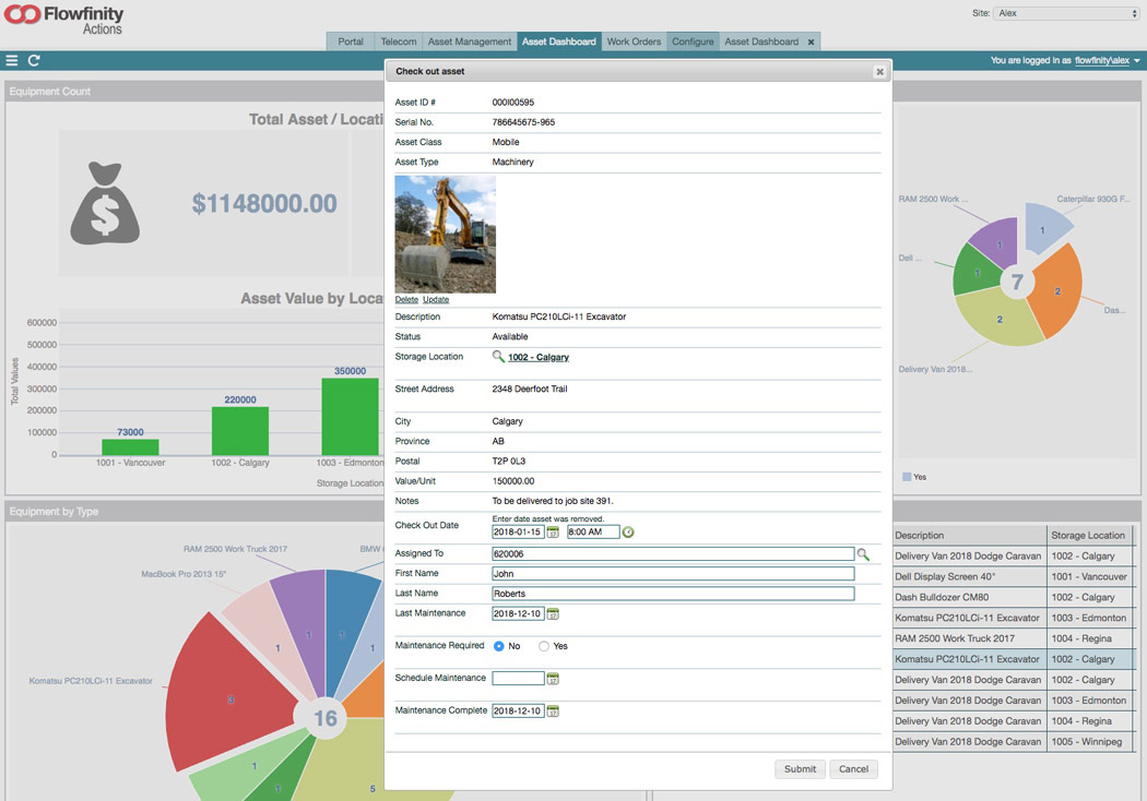 Mobile Asset Management