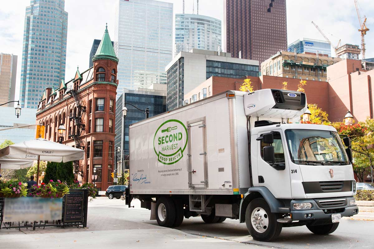 Second harvest optimizes food rescue with mobile apps for Americas second harvest