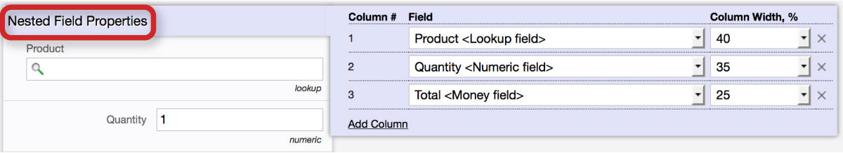 Flowfinity - Specify Required Fields
